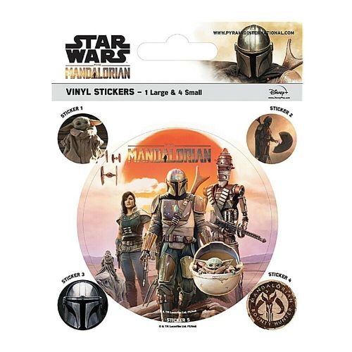 Star Wars The Mandalorian Legacy Vinyl Stickers Set Decals